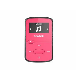 SanDisk MP3 Player Clip Jam 8GB Pink