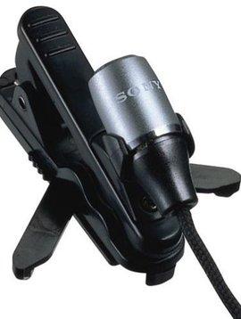 Sony ECM-C115 Electret Condenser Tie-pin Business Microphone |