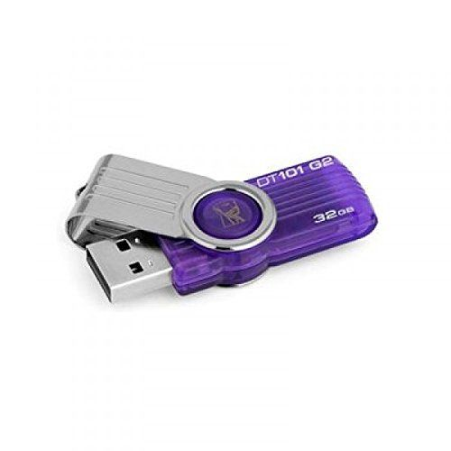 32GB USB 2.0 DataTraveler 101 Flash Drive - Purple