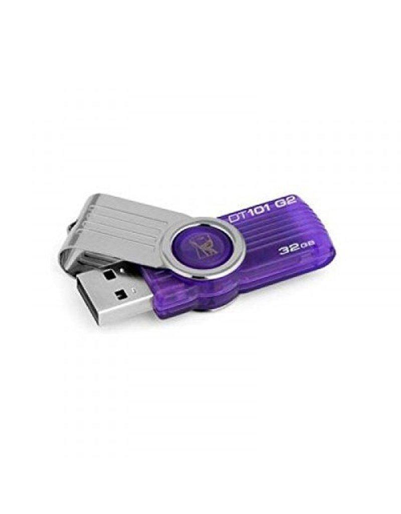 32GB USB 2.0 DataTraveler 101 Flash Drive - Purple
