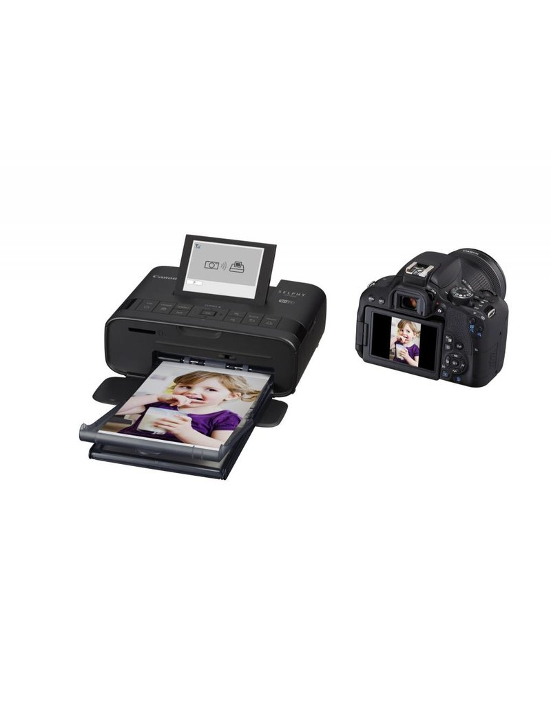 Canon SELPHY CP1300 Photo Printer Black