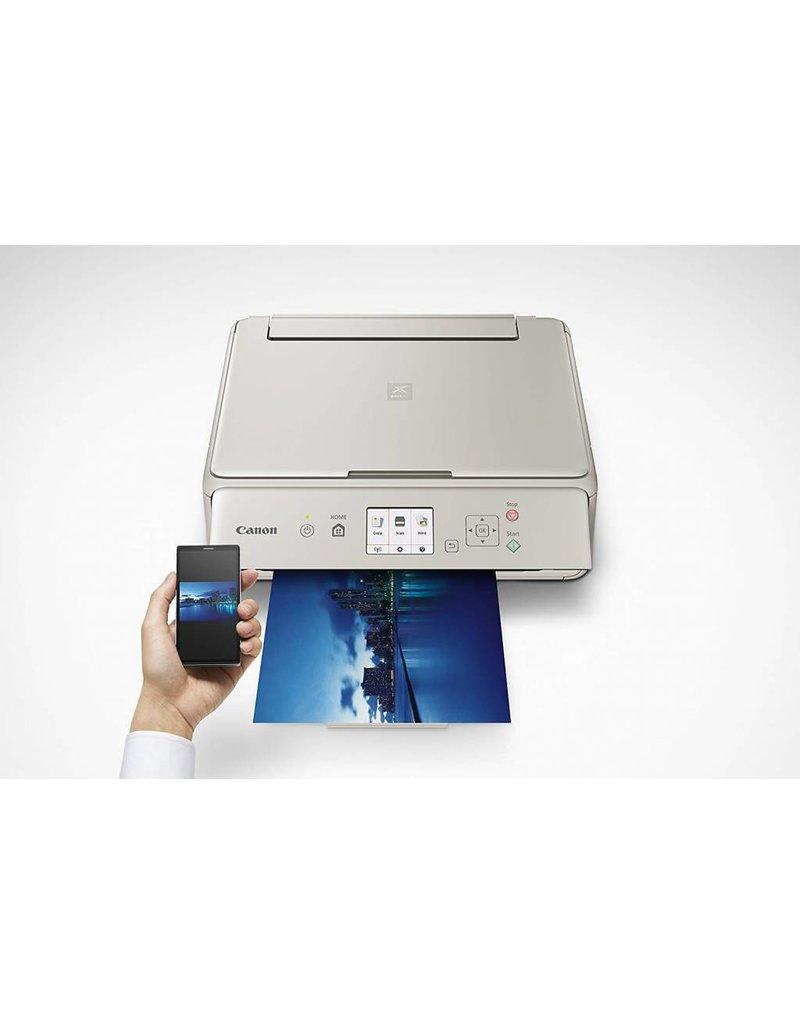 Canon TS5020 PIXMA  Wireless Inkjet All in One Printer, Gray