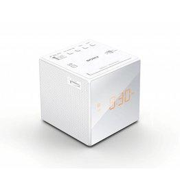 Sony ICFC1W 4W Alarm Clock Radio, White