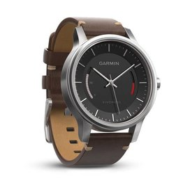 Garmin Vivomove Premium Stainless Steel with Leather