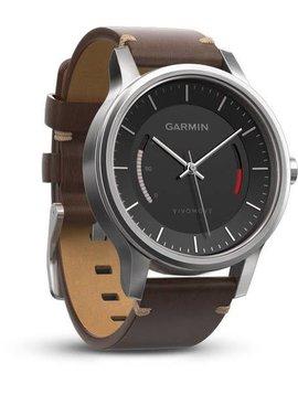 Garmin Vivomove Premium Stainless Steel with Leather