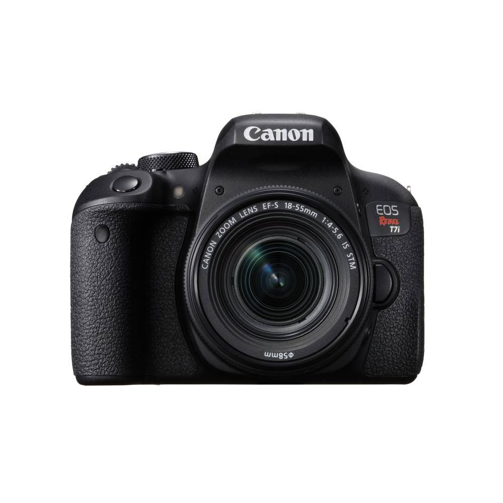 Canon EOS Rebel T7I DSLR Camera with 18-55 mm Lens kit