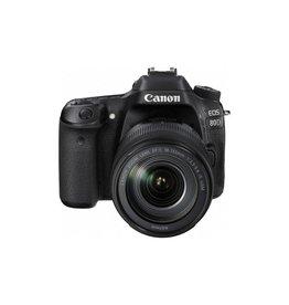 Canon EOS 80D DSLR appareil photo avec 18-135MM Objectif + Gratuit Speelite 430EX III flash paquet