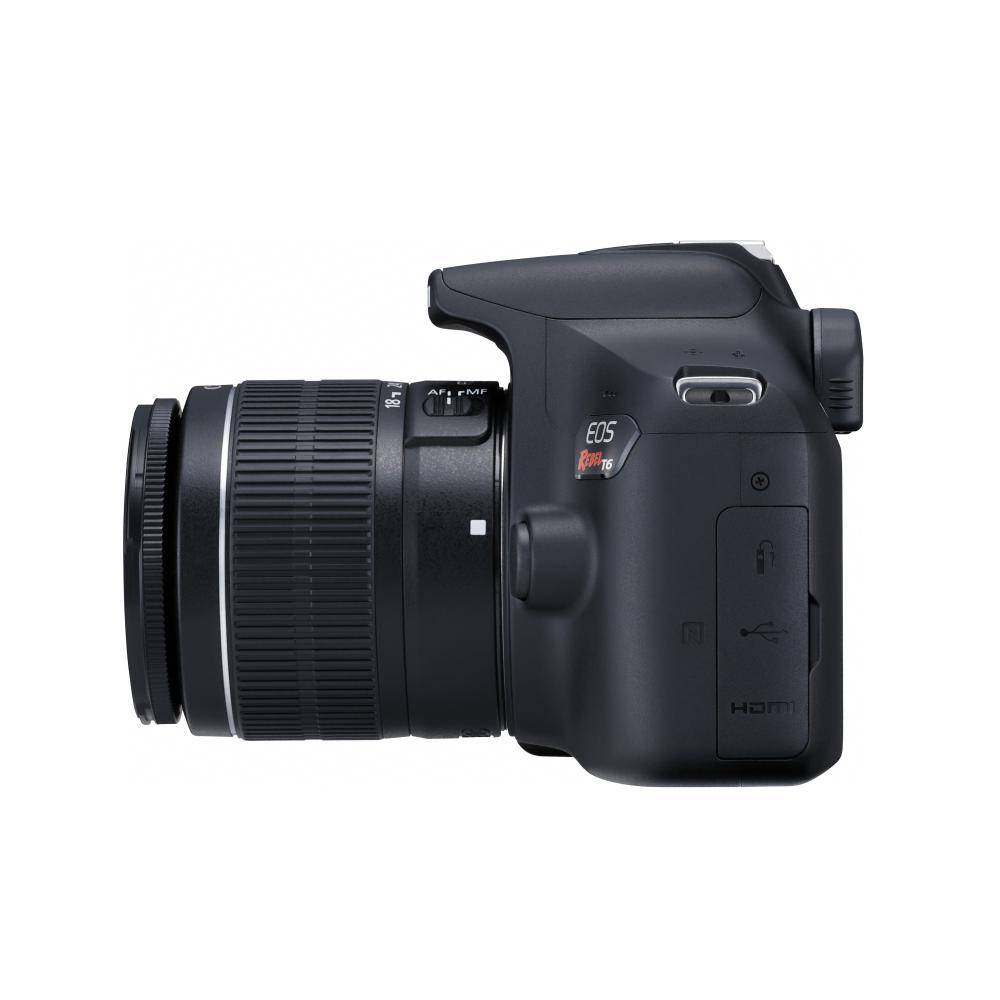 Canon EOS Rebel T6 DSLR Camera with 18-55 mm Lens Kit