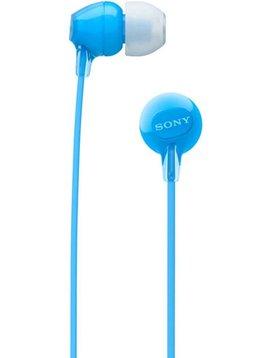 Sony WI-C300 wireless Earphones with mic- blue