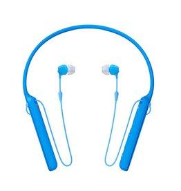 Sony WI-C400 -Écouteurs intra-auriculaires sans fil-Bleu
