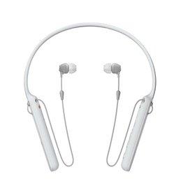 Sony WI-C400 -Écouteurs intra-auriculaires sans fil-Blanc