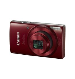 Canon PowerShot ELPH 190 IS Digital Camera Red