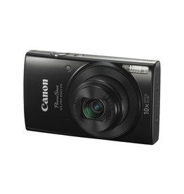 Canon PowerShot ELPH 190 IS Digital Camera - Black