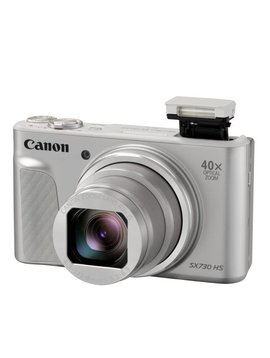Canon PowerShot SX730 HS With case Silver