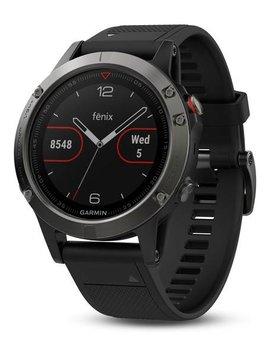 Garmin fenix 5 Multi-Sport Training GPS Watch (Slate Gray, Black Band)