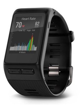 Garmin Vivoactive HR GPS Smart Watch, X-Large Fit-Black