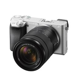 Sony Alpha a6300  Appareil à monture E avec capteur APS-C avec  18-135mm objevtif- argent