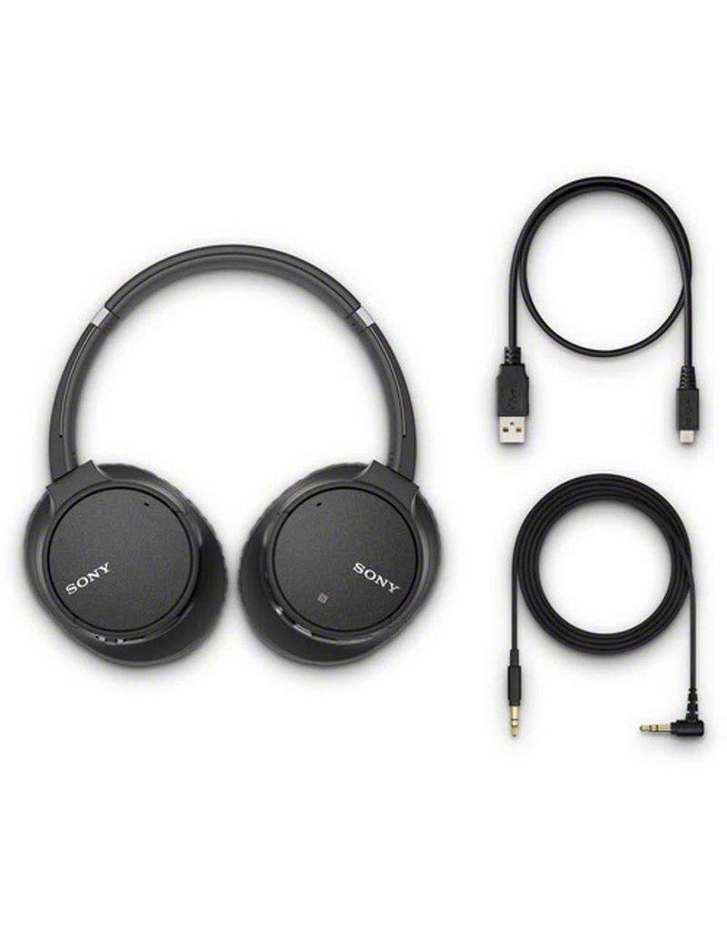 Sony WH-CH700N Casque sans fil avec fonction à réduction de bruit -Noir