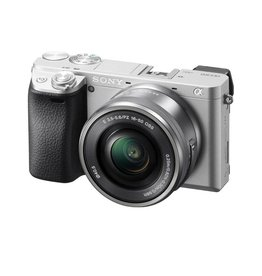 Sony Alpha a6300 a6300L/S Mirrorless Digital Camera with 16-50mm Lens -Silver