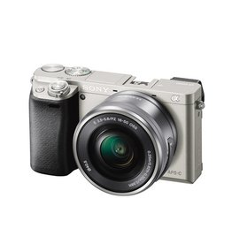 Sony Alpha a6000 ILCE6000L/S Appareil à monture E avec capteur APS-C avec 16-50mm objectif- argent