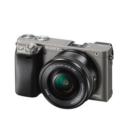 Sony Alpha a6000 ILCE6000L/H mirrorless Digital Camera with 16-50mm lens - graphite gray