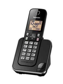 Panasonic KXTGC380B 1 handset Cordless phone