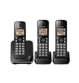 Panasonic KXTGC383B 3 handset Cordless phone
