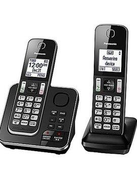 Panasonic KXTGD392B 2 handset Téléphone  sans fil avec répondeur