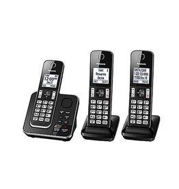 Panasonic KXTGD393B 3 handset Téléphone sans fil avec répondeur