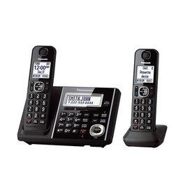 Panasonic KXTGF342B 2  handset Téléphone sans fil avec base