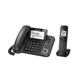Panasonic KXTGF350M Corded + 1 handset Cordless Phone
