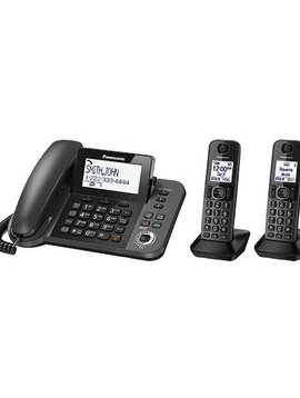 Panasonic KXTGF352M Corded + 2 handsets Cordless Phone