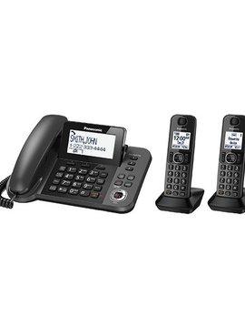 Panasonic KXTGF352M filaire + 2 handsets téléphone sans fil