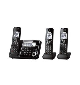 Panasonic KXTGF343B 3 handset cordless phone with Base