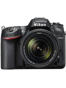 Nikon D7200 Kit avec AF-S 18-140mm VR