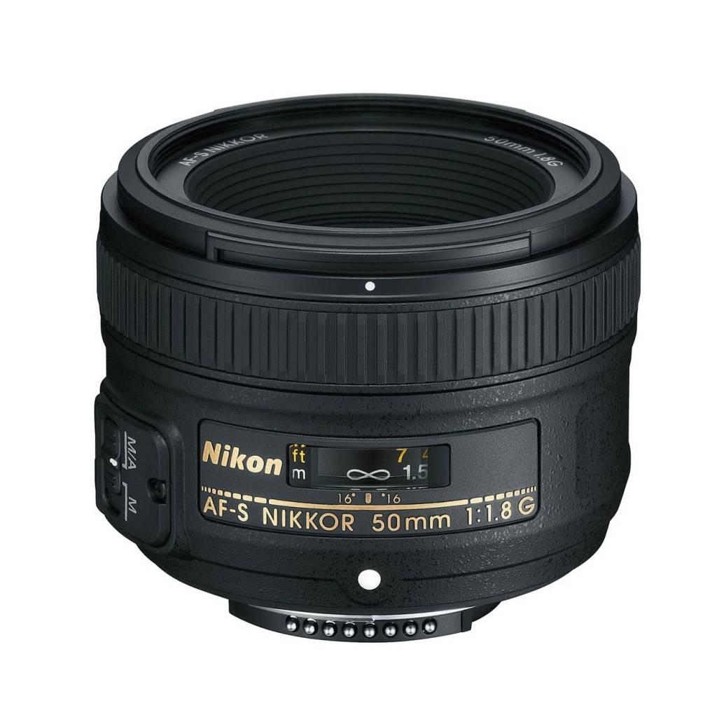 Nikon AF-S NIKKOR 50mm f/1.8G objectif