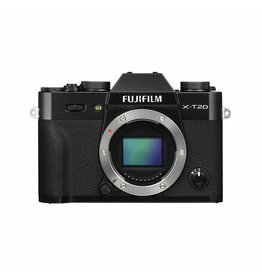 FujiFilm X-T20 Mirrorless Digital Camera -Body Only - Black