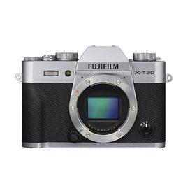 FujiFilm X-T20  Camera sans miroir- corps - Argent
