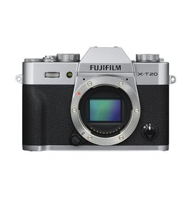 FujiFilm X-T20 Mirrorless Digital Camera - Body Only - Silver