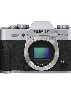 FujiFilm X-T20 Mirrorless Digital Camera - Body Only - Silver