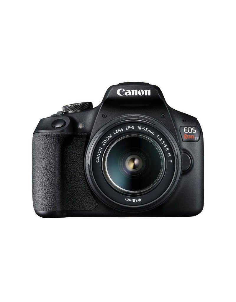 Canon EOS Rebel T7 DSLR Camera with 18-55mm IS Lens Kit