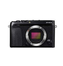 FujiFilm X-E3 appareil photo sans mirroire-noir