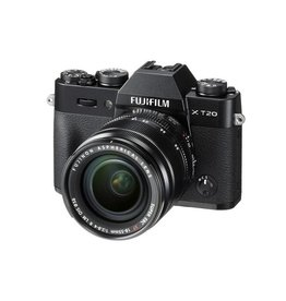 FujiFilm X-T20 Mirrorless Camera kit with 18-55mm XF Lens - Black