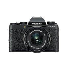 FujiFilm X-T100 Camera sans miroir avec XC 15-45mm objectif - Noir