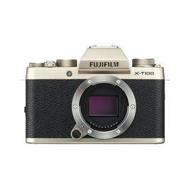 FujiFilm X-T100 Mirrorless Camera Body Champagne Gold