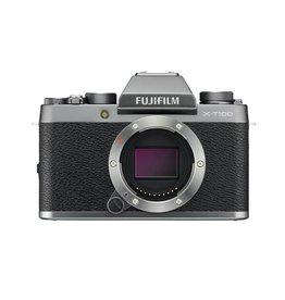 FujiFilm X-T100 Camera sans miroir - corps - argent foncé