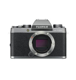FujiFilm X-T100 Mirrorless Camera  Body Dark Silver