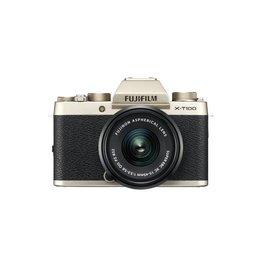 FujiFilm X-T100 Camera sans miroir avec XC 15-45mm Objectif - or