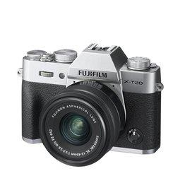 FujiFilm X-T20 Mirrorless Camera Kit avec XC 15-45mm Objectif- Argent