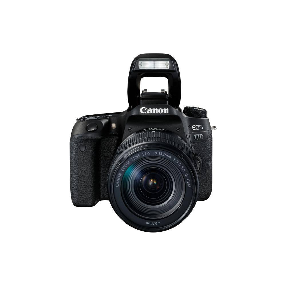 Canon EOS 77D DSLR Camera with 18-135mm USM Lens